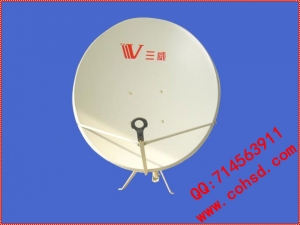 三威90厘米KU波段偏馈天线 立柱式 SW-KU-90