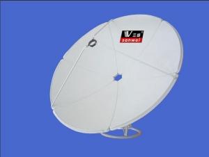 三威1.5米C波天线精品A型机械切边正馈C天线(加厚款)板厚0.5mm