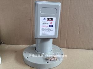 百昌COHSD-1252抗5G干扰 双本振二输出5G高频头C头 5150-5750本镇 适合工程用