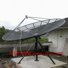 出口型1.8米网状天线 铝合金网锅天线 1.8m C波段 卫星接收天线